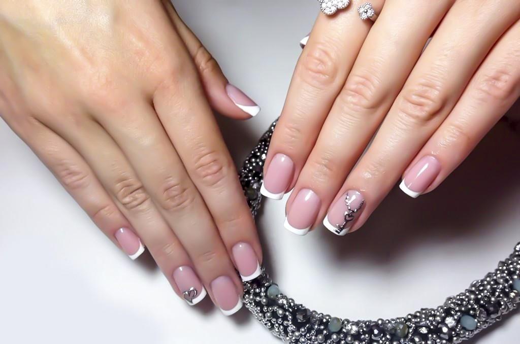 Маникюр нарощенных ногтей дизайн